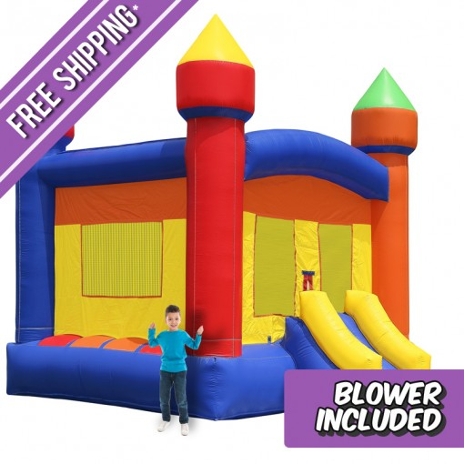 commercial castle bounce house - Bounce House For Sale