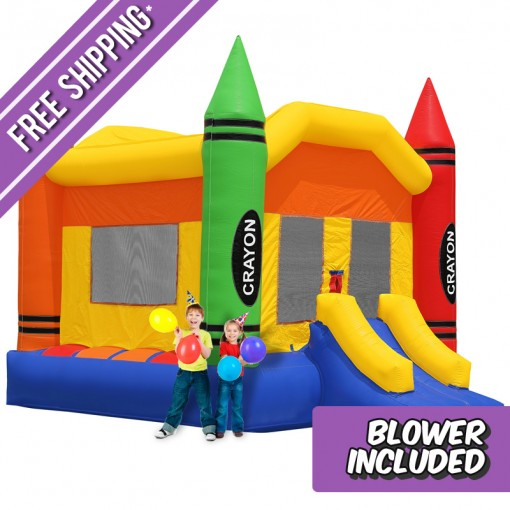 commercial crayon bounce house - Bounce House For Sale